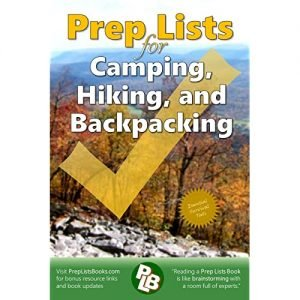 0966543238 - Prep Lists for Camping, Hiking, and Backpacking Paperback