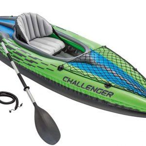 B00177J4JS - Intex Challenger K1 Kayak, 1-Person Inflatable Kayak Set