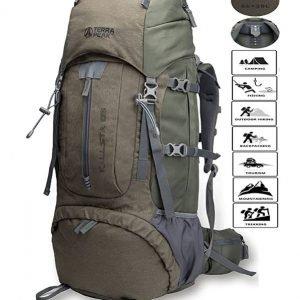 B075FV8TYR - TERRA PEAK Adjustable Hiking Backpack