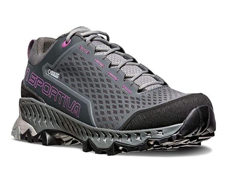 La Sportiva Spire GTX Women's Hiking Shoe - Carbon/Purple