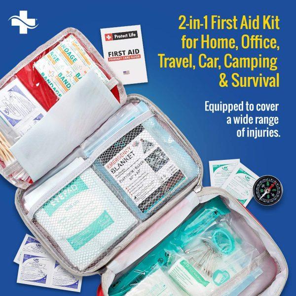 B07WBZFQ2L - 2-in-1 First Aid Kit