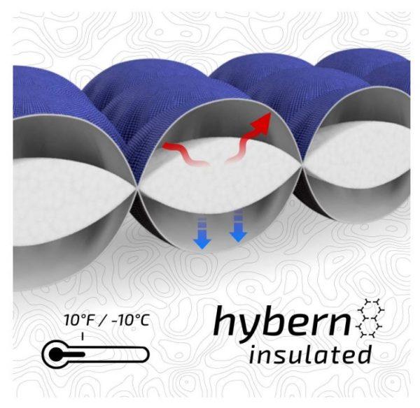 B07GZ2JF25 - ECOTEK Outdoors Insulated Hybern8 4 Season Ultralight Inflatable Sleeping Pad