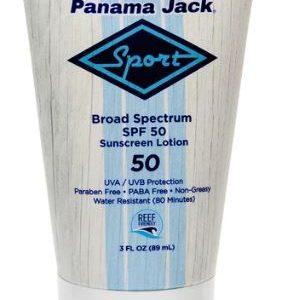 B07DZ9NMTR - Panama Jack Sport Broad Spectrum Sunscreen Lotion