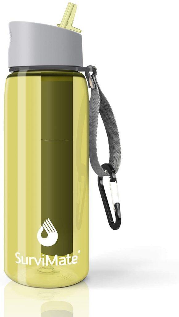 B07PRB4DLM - SurviMate Filtered Water Bottle