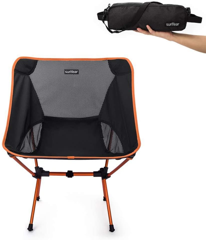 B01D2FFND8 - Sunyear Lightweight Compact Folding Chair