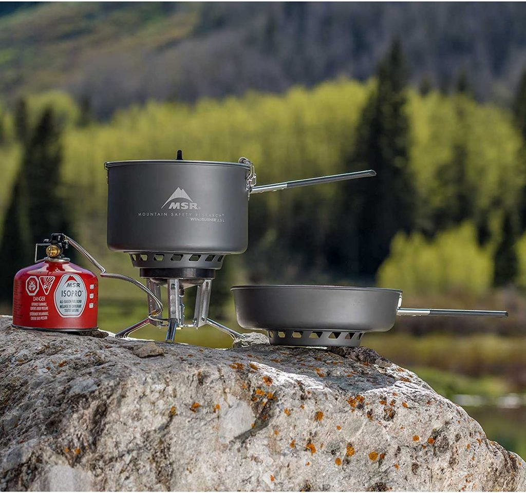 B078KQSSMG - MSR WindBurner Stove and Cookware System Combo