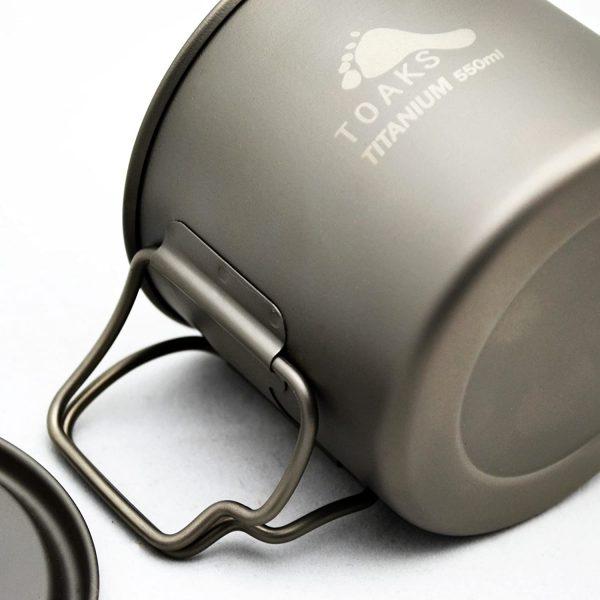 B00CYA26BU - TOAKS Light Titanium 550ml Pot (Ultralight Version)
