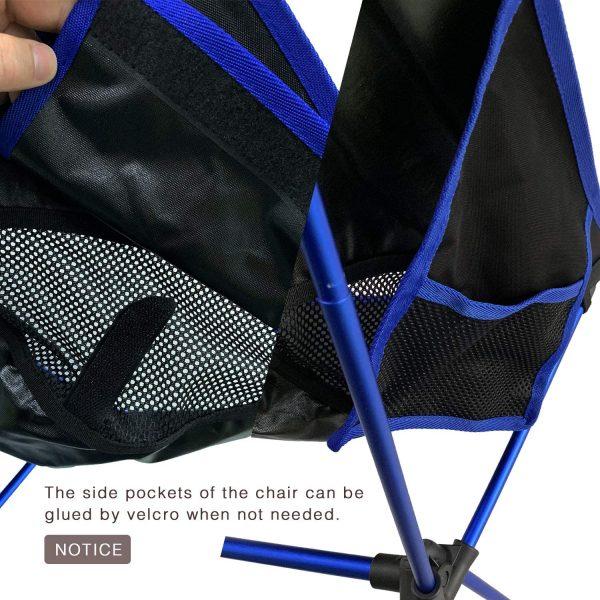 B00Y2A6SBO - MOON LENCE Outdoor Ultralight Folding Chairs