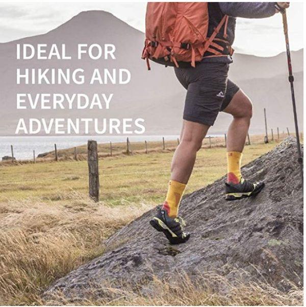 B07D8WQ764 - DANISH ENDURANCE Merino Wool Hiking & Walking Socks 3-Pack