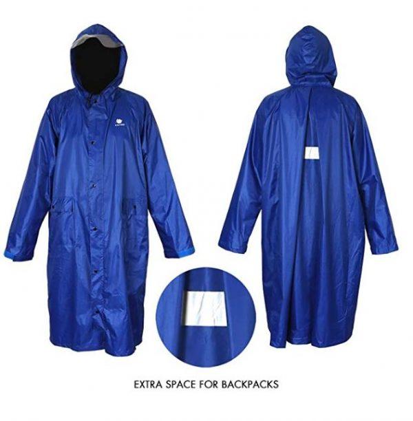 B07QHWWPQ1 - Anyoo Waterproof Rain Poncho