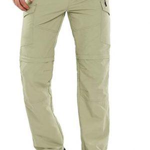 B07S9WYTR7 - Men's Hiking Pants Convertible Lightweight Zip-Off