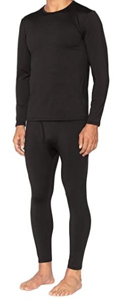 B08DK9NNCT - Bodtek Mens Thermal Underwear Set