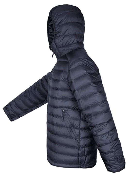 B07LGZYPN1 - HARD LAND Men's Water Resistant Packable Down Jacket