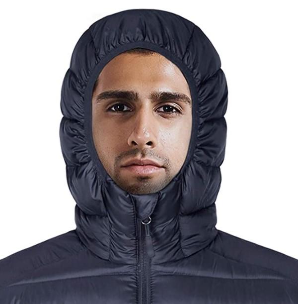 B07LGZYPN1 - HARD LAND Men's Water Resistant Packable Down Jacket