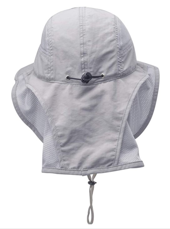 B07CCGMSQS - Lenikis Unisex Outdoor Activities UV Protecting Sun Hats with Neck Flap